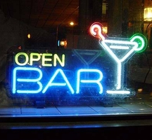 Open-bar-lights