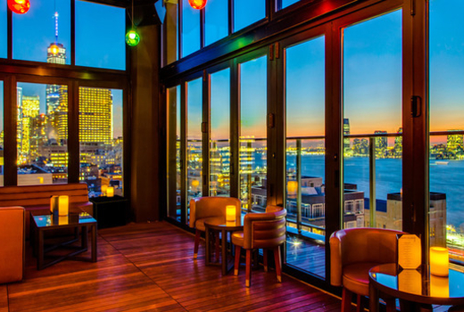 79 for a nye atop of nyc a 4 hour premium open bar for Hugo s boutique hotel